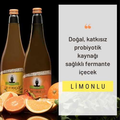 KOMBUÇAY LİMONLU